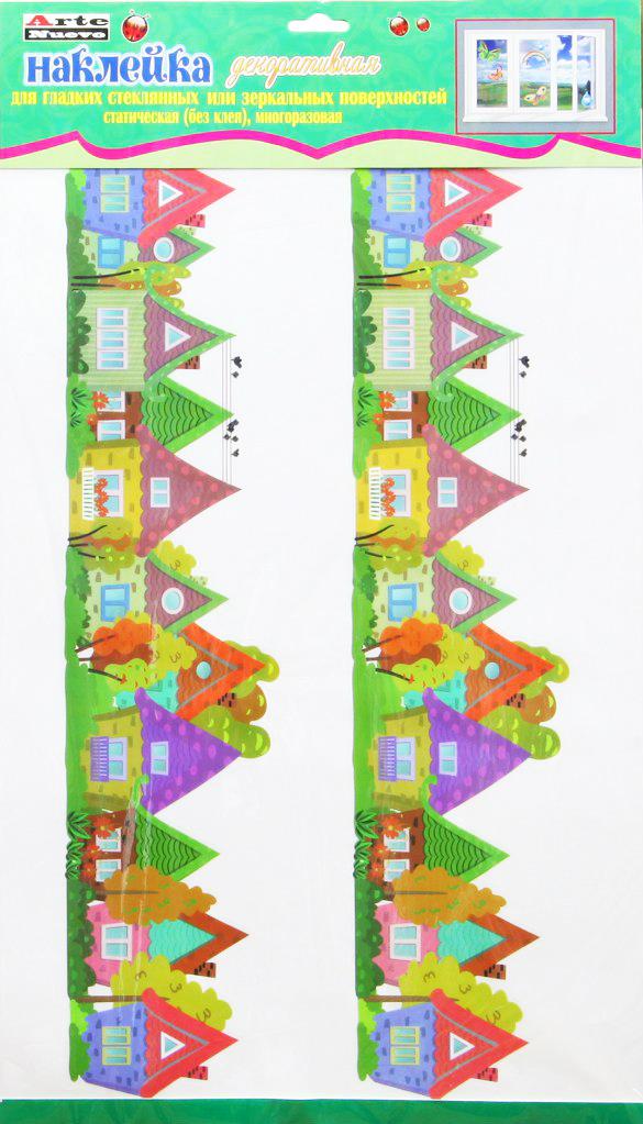 цена на Наклейка декоративная на стекло Arte Nuevo Лето, 33 х 60 см. 2DN-WM-2SUM
