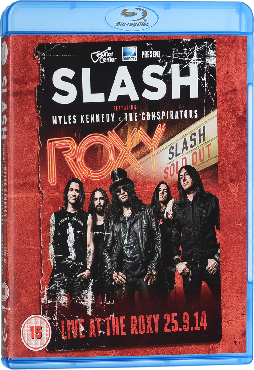 цены на Slash Featuring Myles Kennedy & The Conspirators: Live At The Roxy 25.09.14 (Blu-ray)  в интернет-магазинах