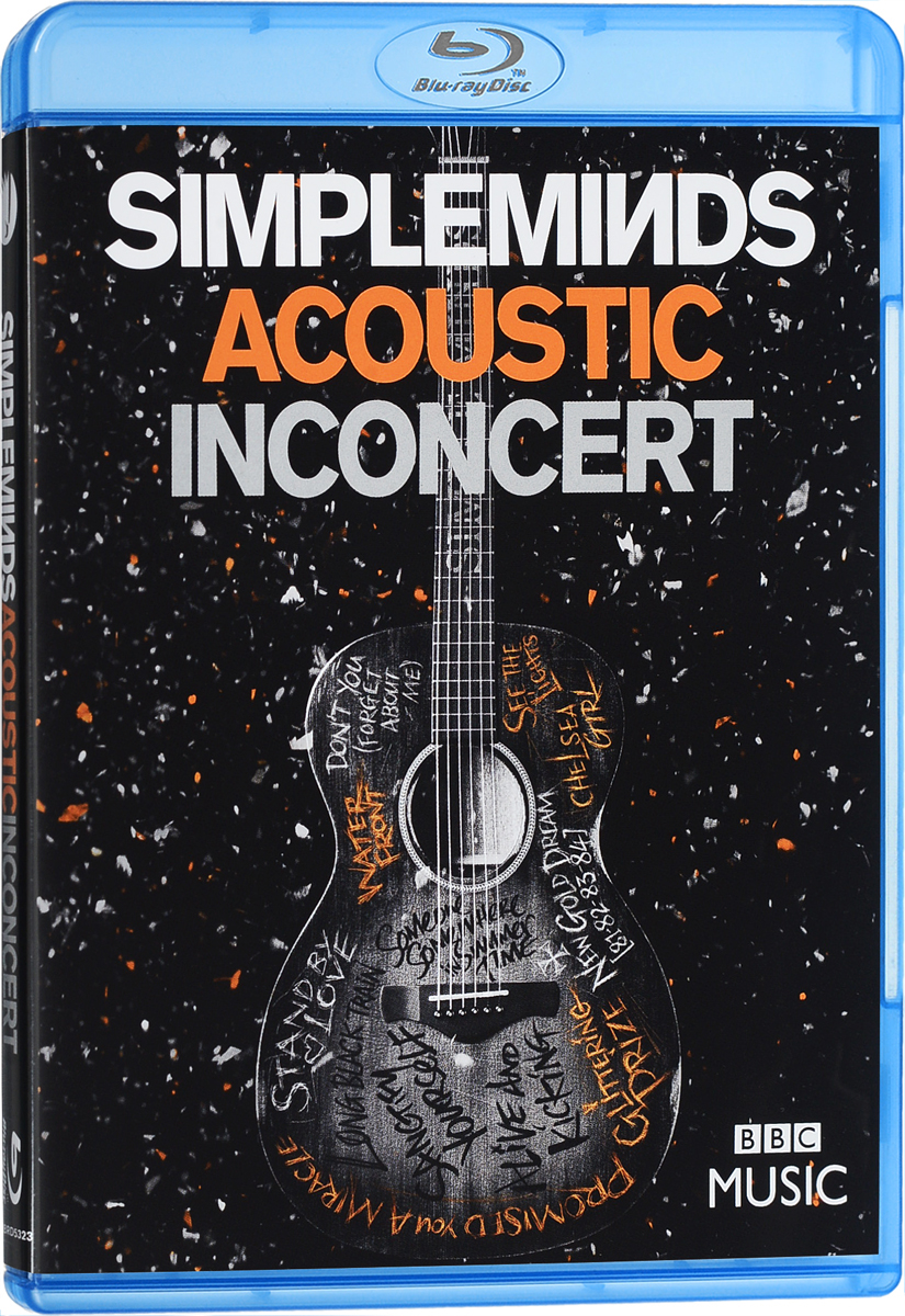 Simple Minds: Acoustic In Concert (Blu-ray) simple minds simple minds acoustic 2 lp