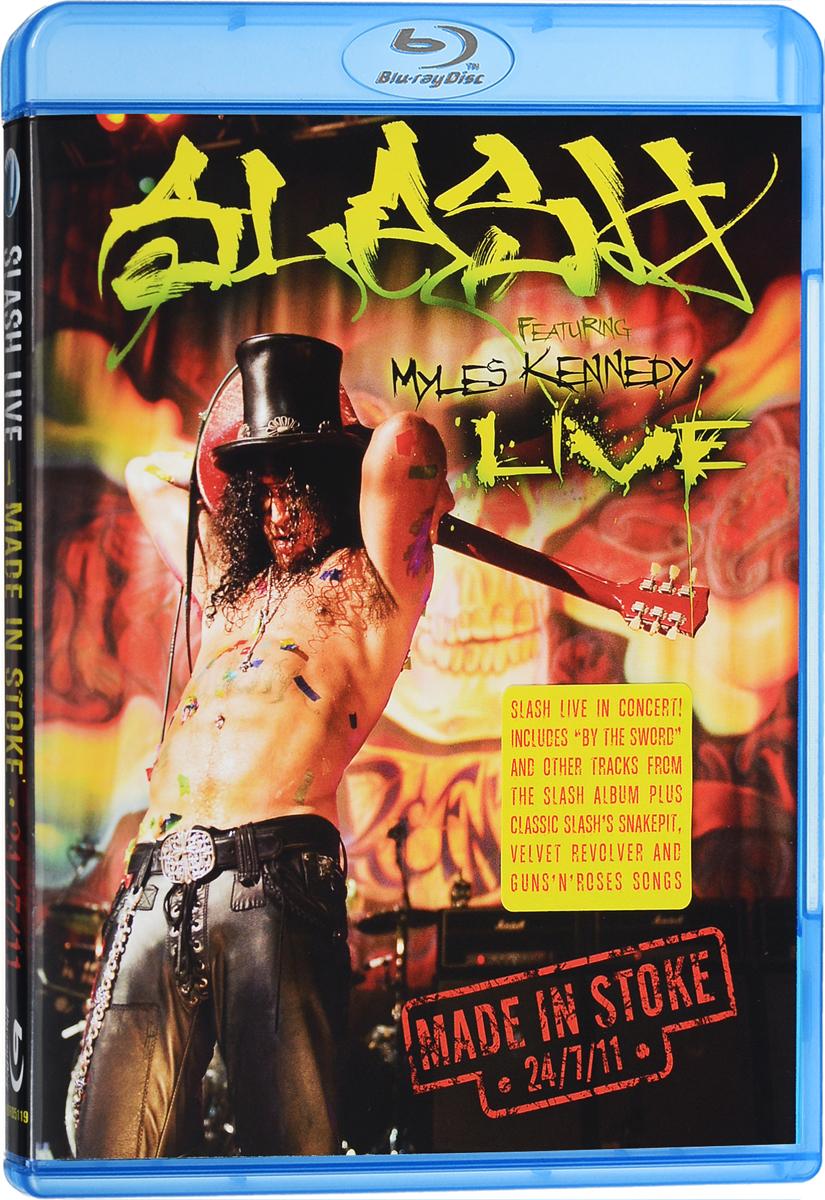 цены на Slash, Myles Kennedy And The Conspirators: Made In Stoke 24.7.11 (Blu-ray)  в интернет-магазинах