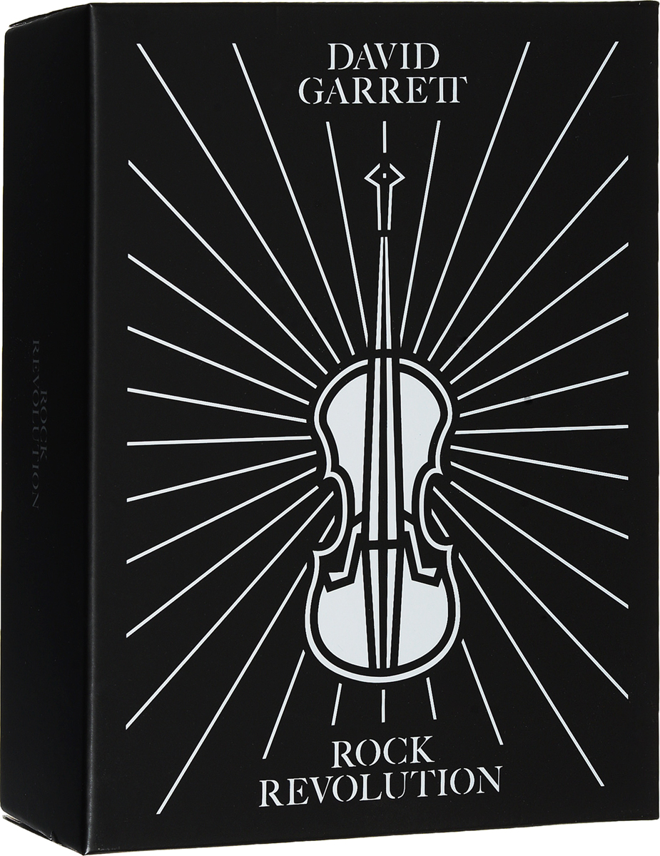 Дэвид Гарретт David Garrett. Rock Revolution (Fanbox) (CD + DVD) david dresden cd