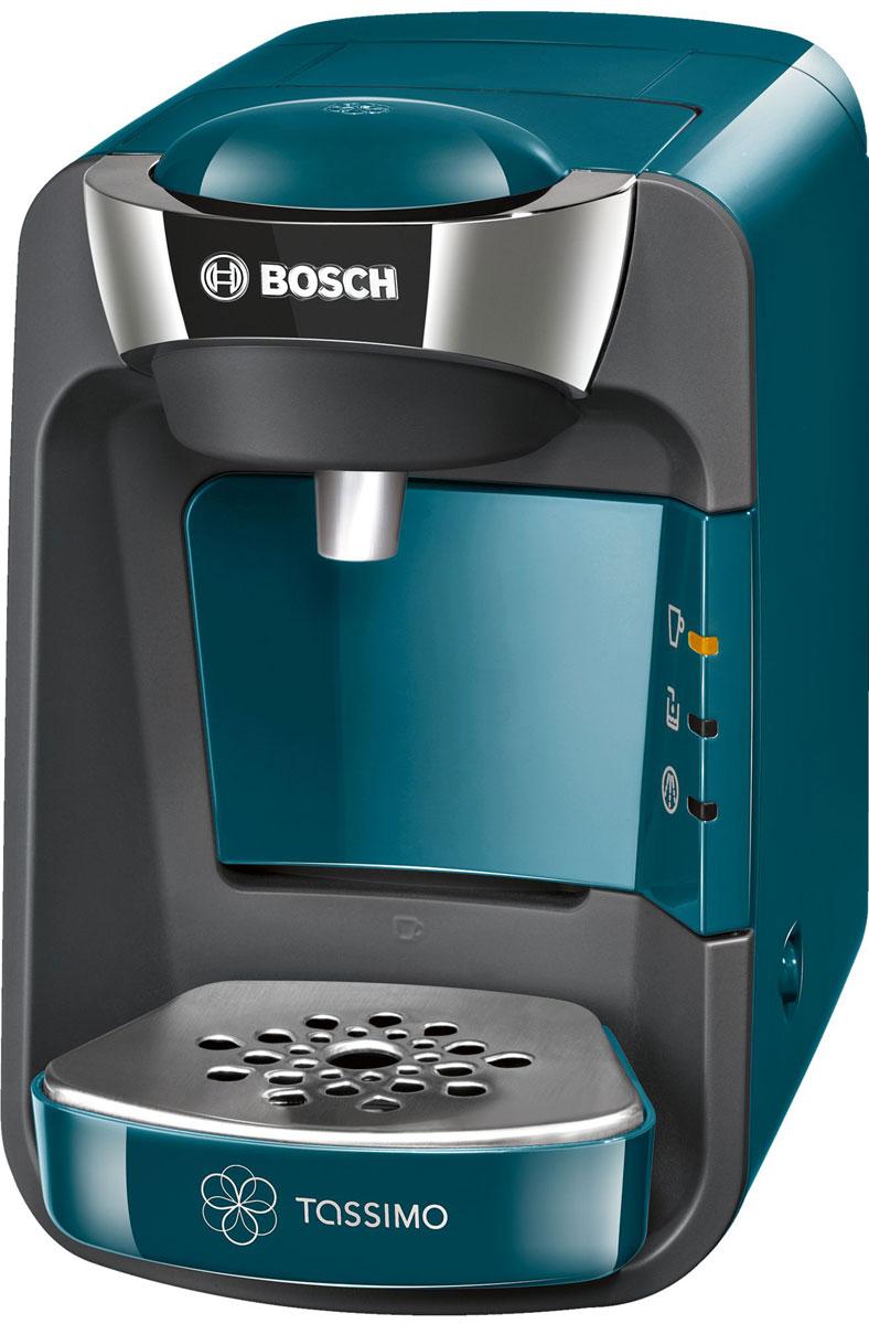 Капсульная кофемашина Bosch TAS3205, Turquoise цена