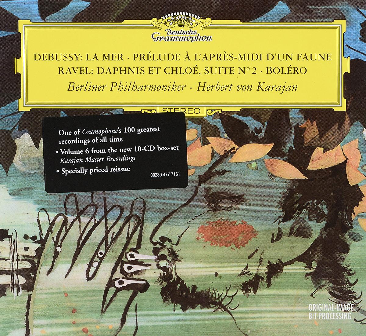 лучшая цена Herbert von Karajan. Debussy. La Mer. Prelude. Ravel. Daphnis & Chloe. Bolero