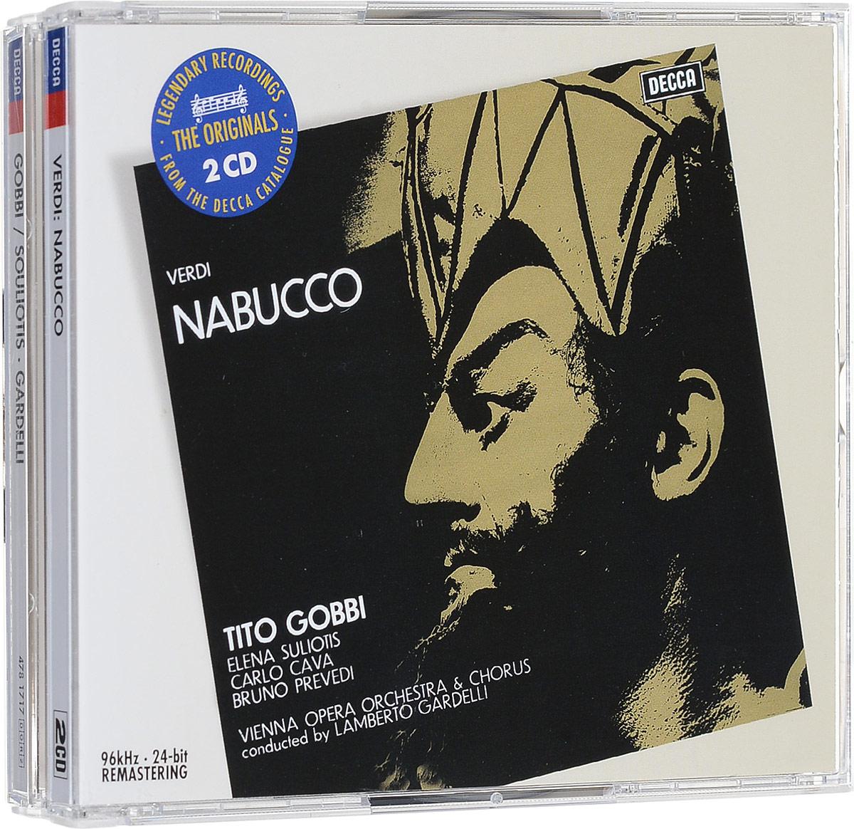 Ламберто Гарделли Lamberto Gardelli. Verdi. Nabucco (2 CD) verdi nabucco arena di verona