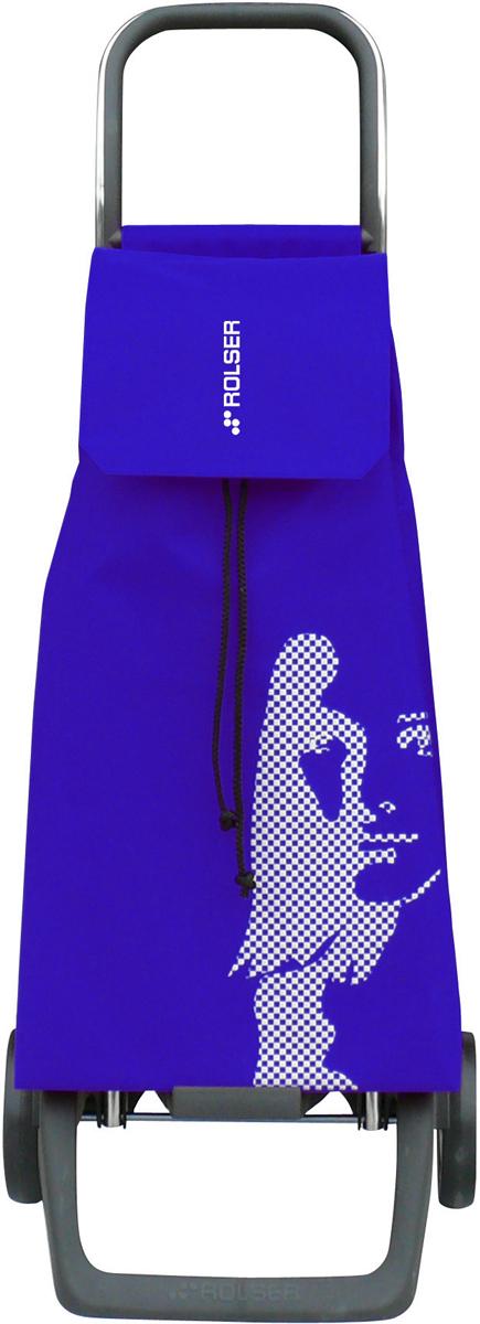 сумка тележка rolser joy jet027 синий 40 л Сумка-тележка Rolser Joy, цвет: синий, 40 л. JET006