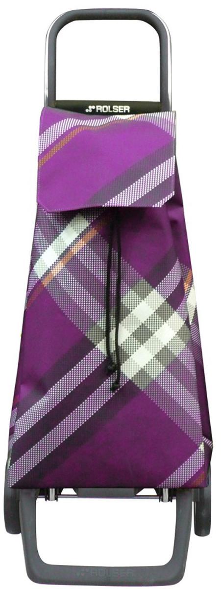 сумка тележка rolser joy jet027 синий 40 л Сумка-тележка Rolser Joy, цвет: фиолетовый, 40 л. JET007