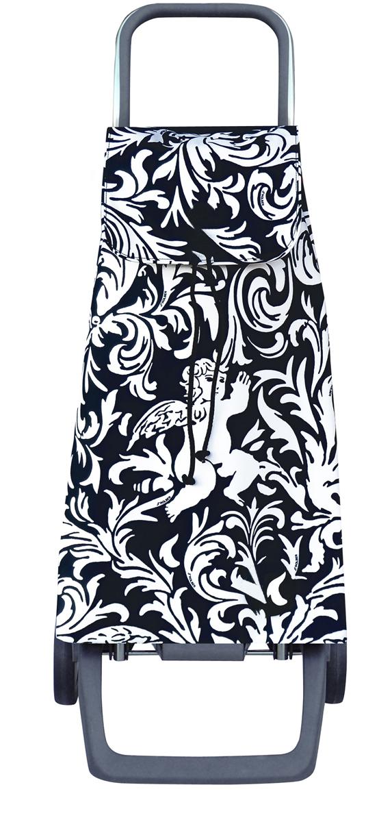 сумка тележка rolser joy jet027 синий 40 л Сумка-тележка Rolser Joy, цвет: черный, белый, 40 л. JET032