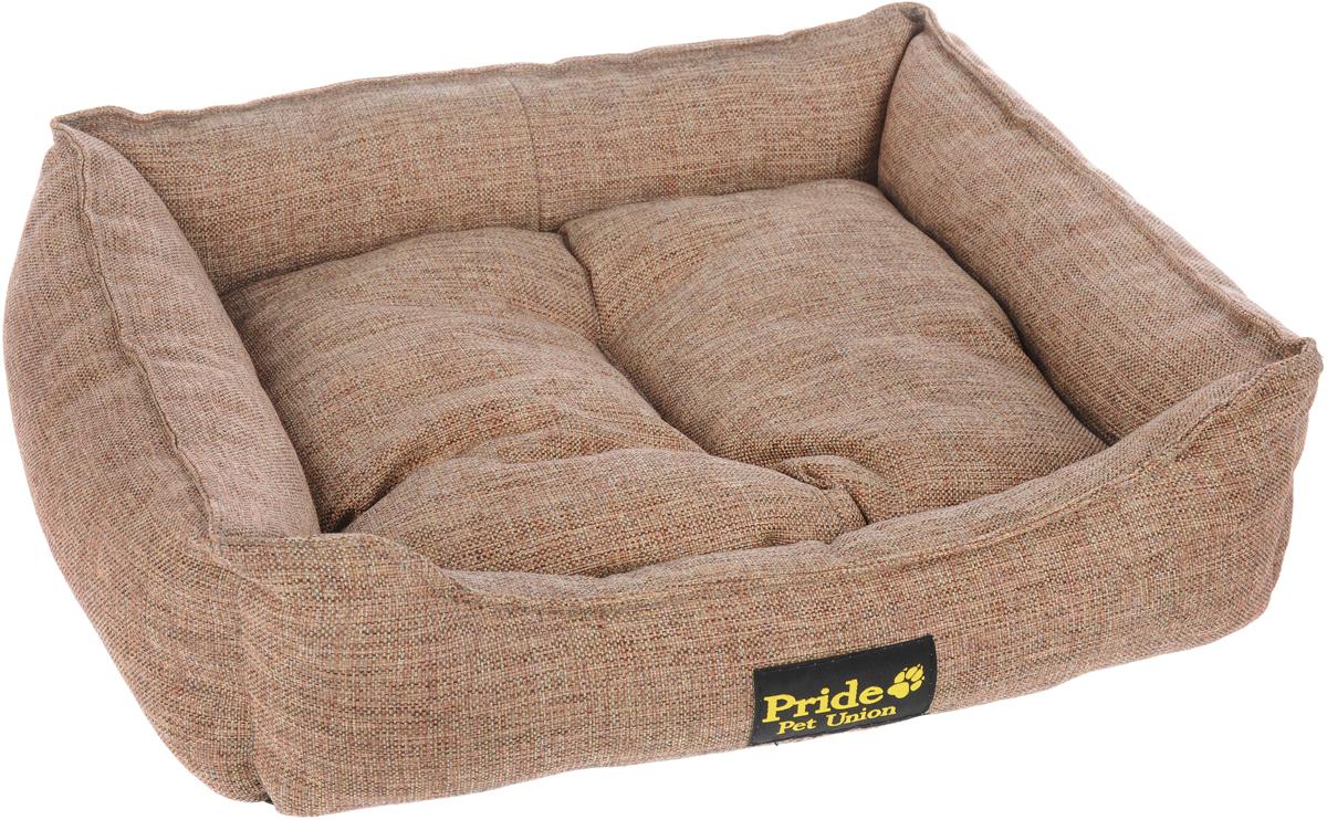 "Лежак для животных Pride ""Прованс"", цвет: песочный, 52 х 41 х 10 см"
