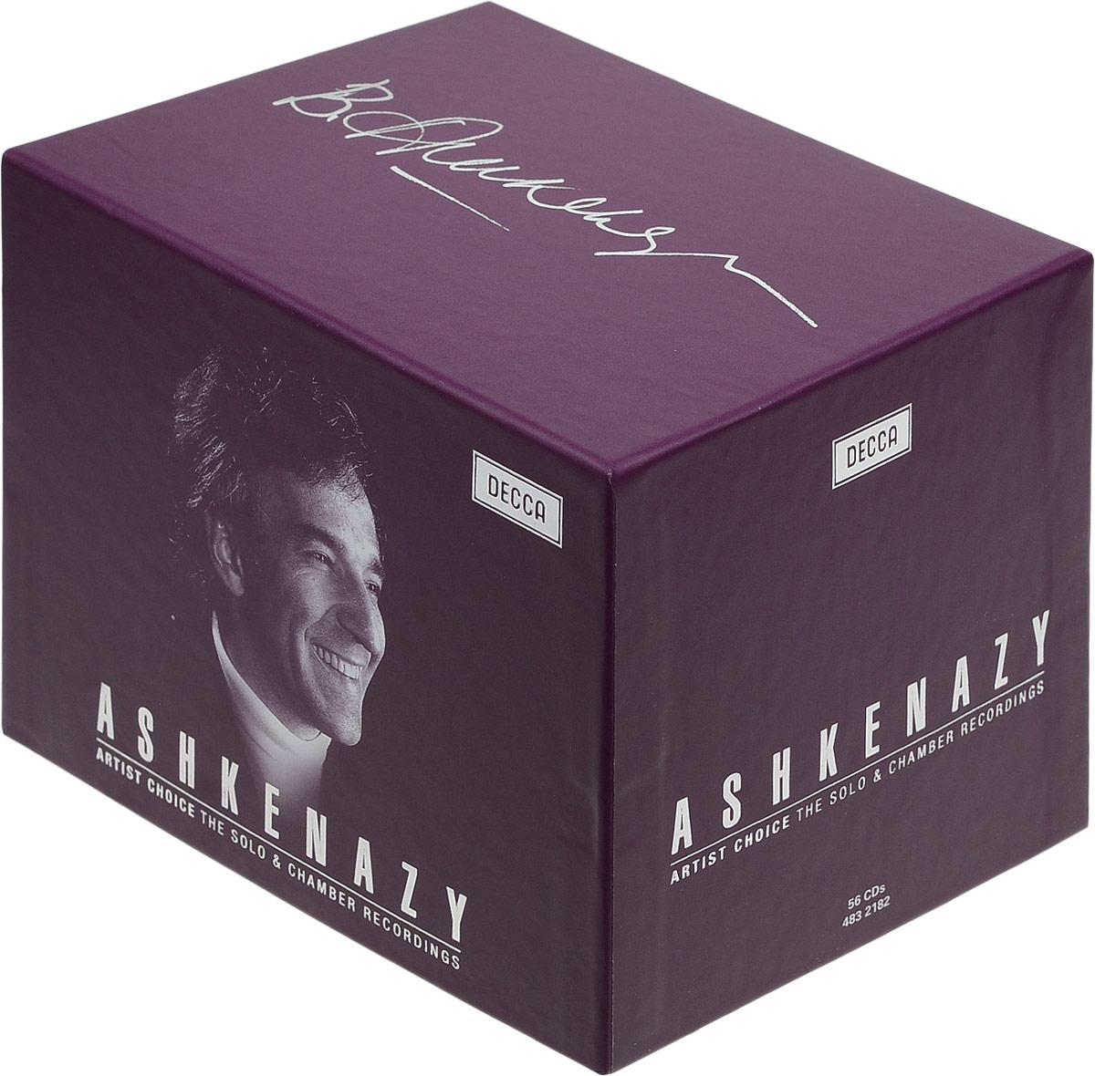 Владимир Ашкенази Vladimir Ashkenazy. Piano & Chamber (56 CD) vladimir ashkenazy beethoven the piano concertos 3 cd