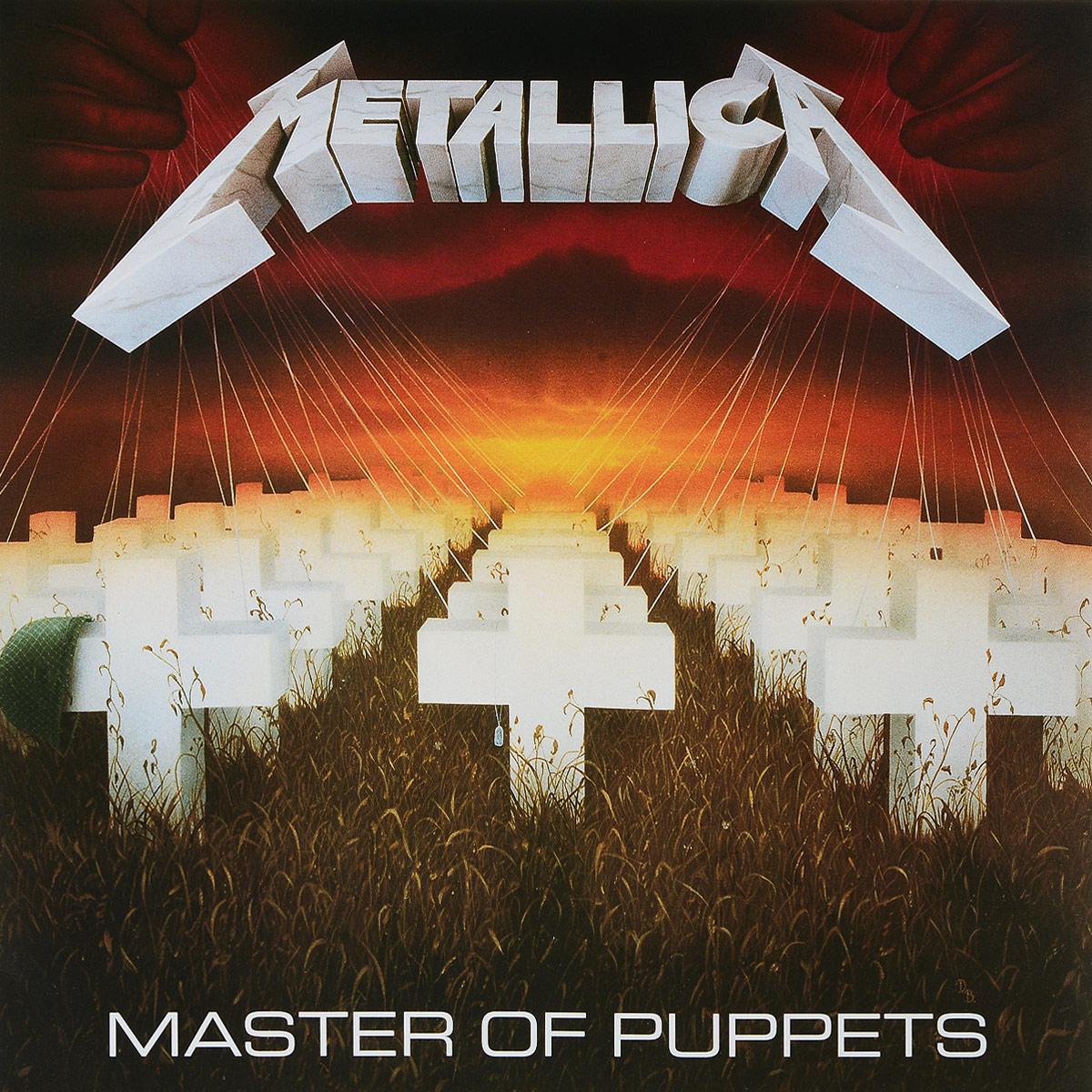 Metallica Metallica. Master Of Puppets (LP) metallica metallica garage inc 3 lp