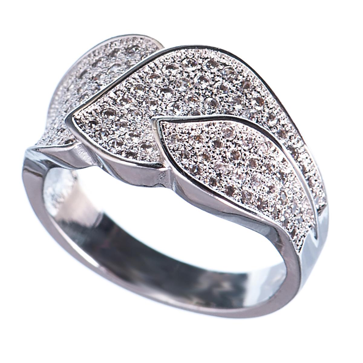 Кольцо женское Selena, цвет: серый. 60022878