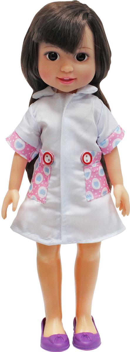 1TOY Кукла Красотка Маленький Доктор брюнетка