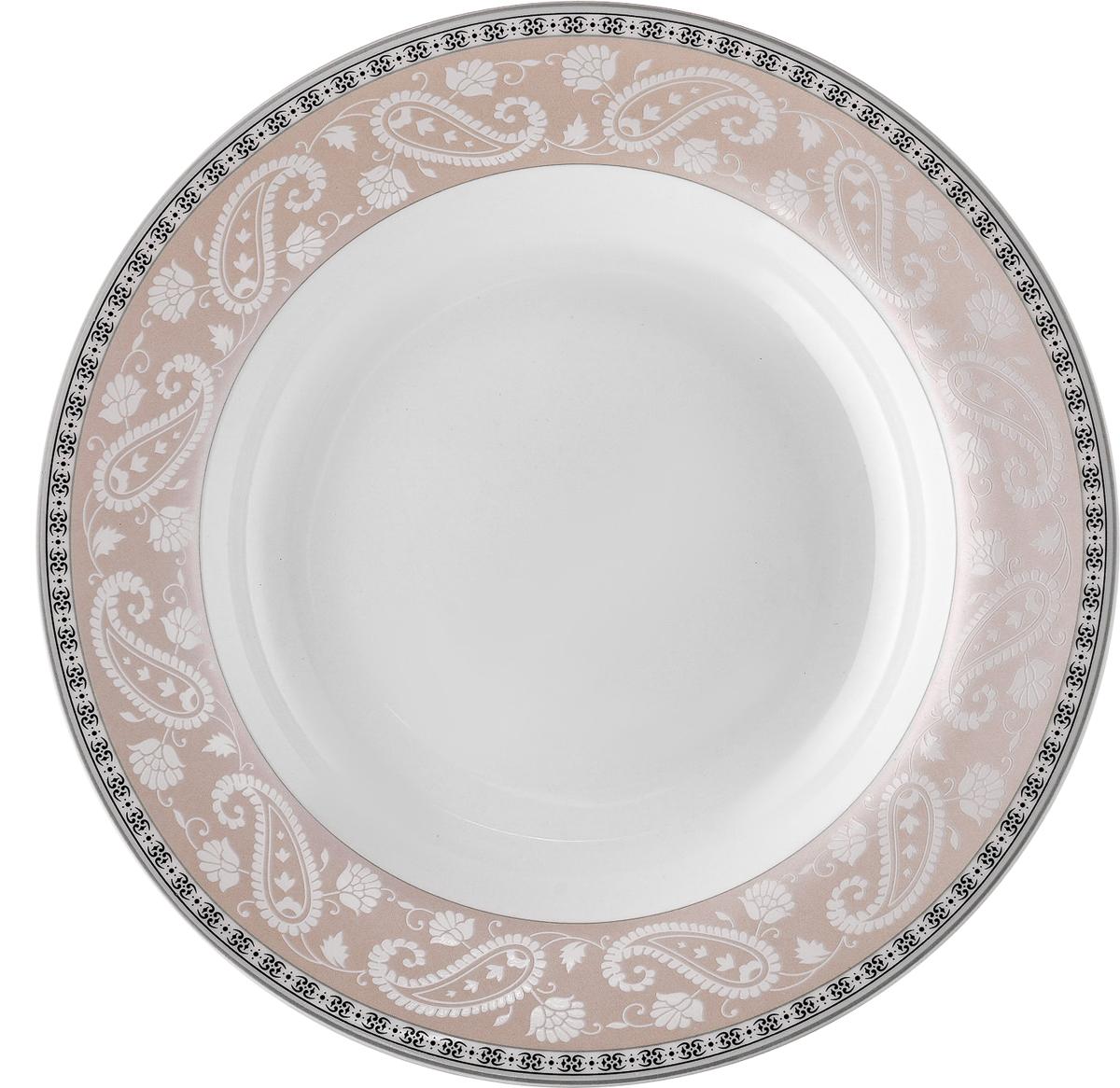 Набор обеденных тарелок Esprado Arista Rose, диаметр 22,5 см, 6 шт чайный набор esprado arista rose