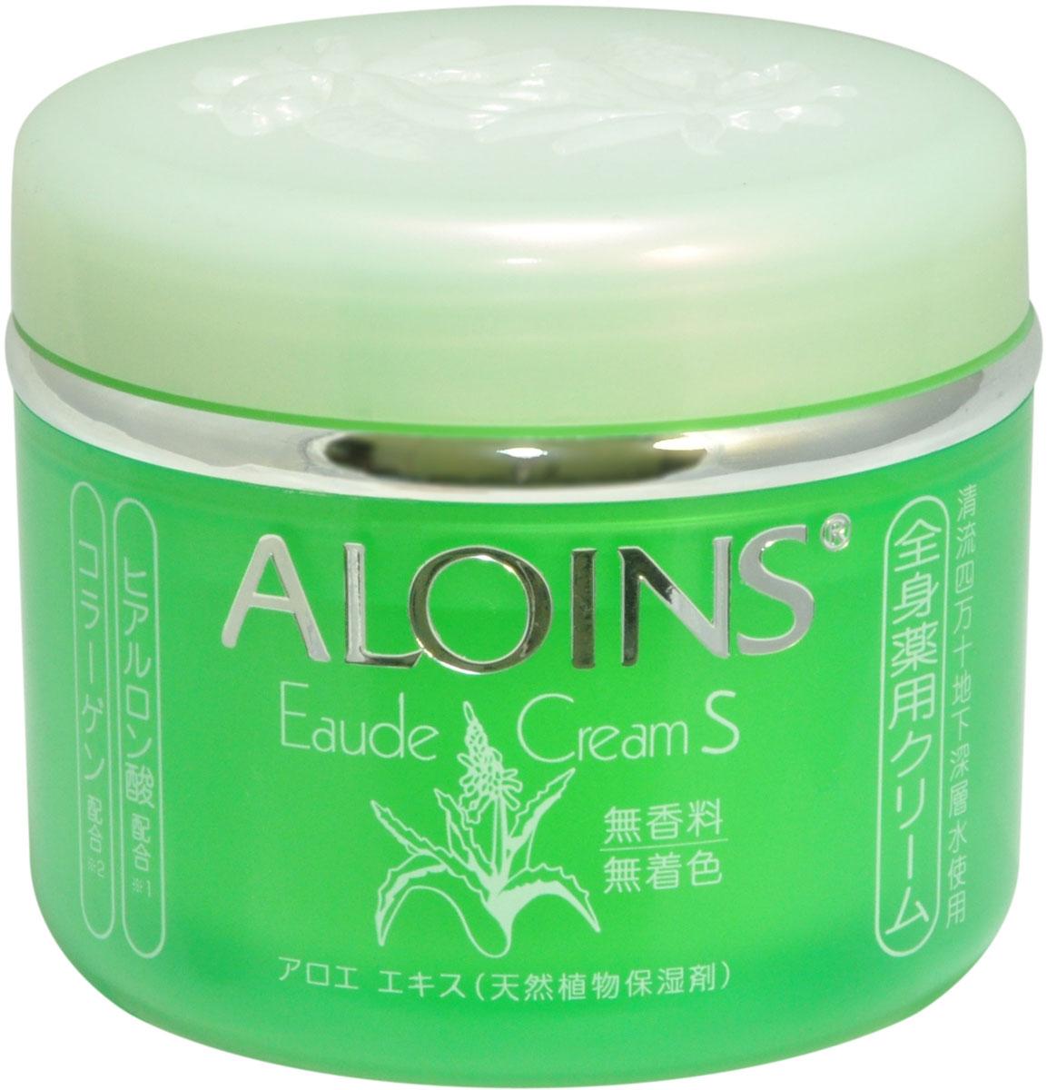 Крем для ухода за кожей ALOINS / Крем для тела с экстрактом алоэ, 185 г, арт.  110805 Aloins