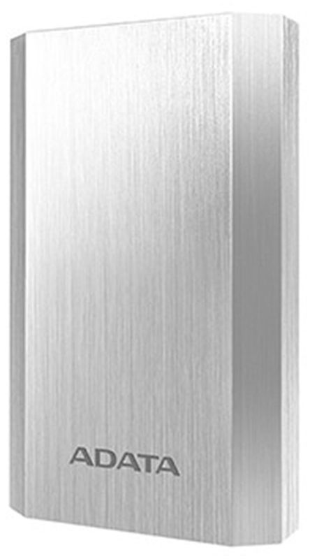 ADATA A10050, Silver внешний аккумулятор (10050 мАч)