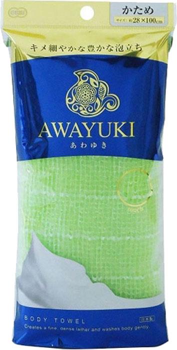 Мочалка OHE / для тела жесткая, цвет: зеленый, арт. 613647 мочалка для тела жесткая зеленая cure nylon towel regular green