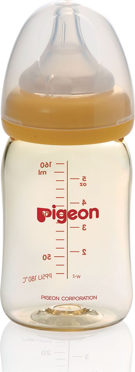 цены на Pigeon Бутылочка для кормления Перистальтик Плюс 160 мл  в интернет-магазинах