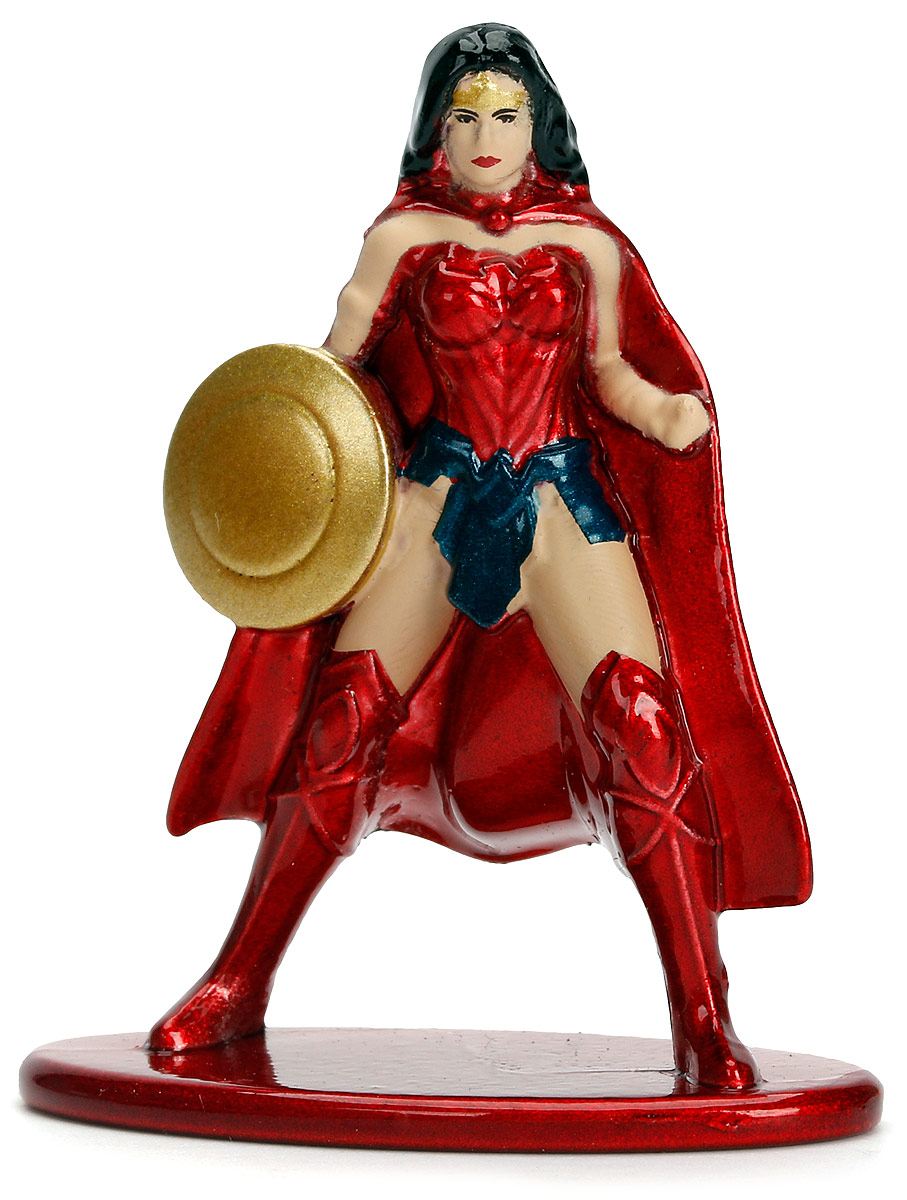Jada DC Comics Фигурка Wonder Woman Nano Metalfigs фигурка jada armored batman 10 см металлическая