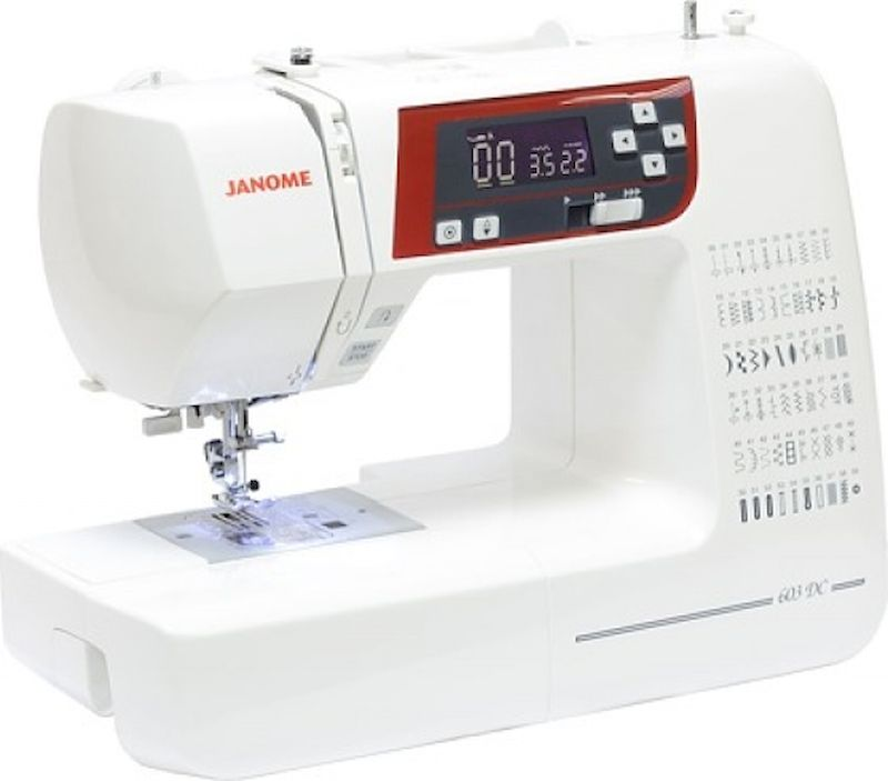 Швейная машина Janome 603 DC швейная машина janome memory craft 5200 с ч