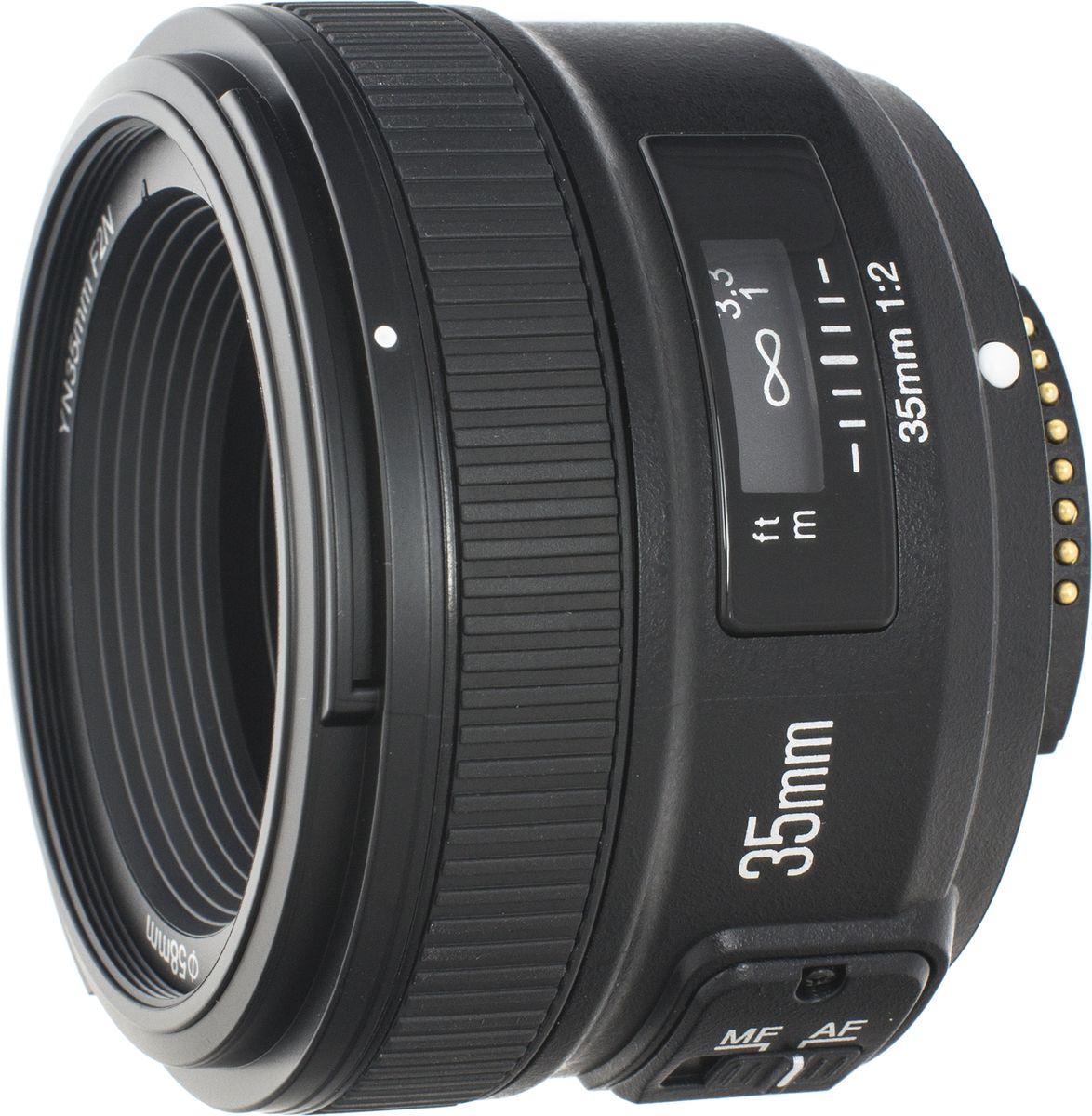 Объектив Yongnuo 35F2.0 для Nikon yongnuo yn560 tx n manual flash controller wireless trigger shutter receiver for nikon dslr camera