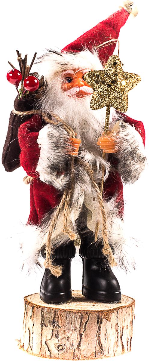 """Санта Клаус на пеньке """"Vita Pelle"""". К11san2319"""