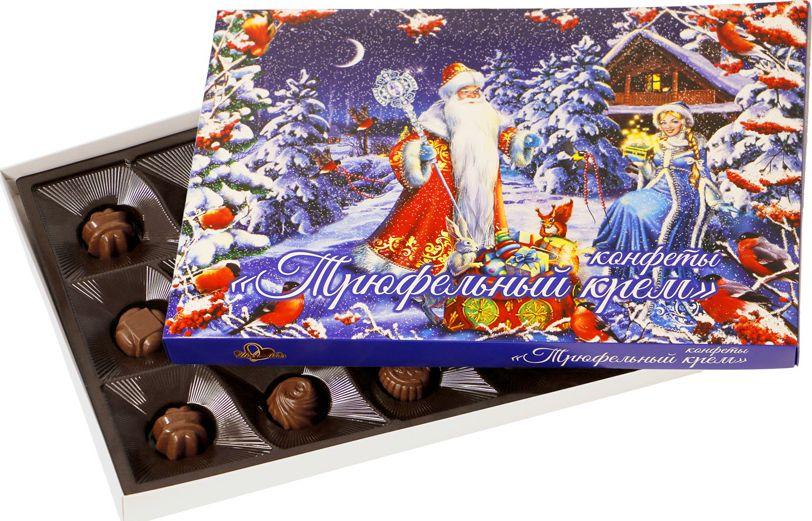 ШокоЛеди Конфеты ассорти с начинкой трюфельный крем, 150 г (Зимняя серия Дом) шоколеди тайна искушения конфеты шоколадные 195 г