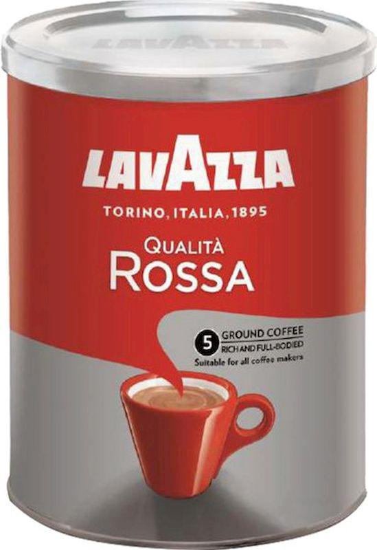 Lavazza Qualita Rossa кофе молотый, 250 г (ж/б)