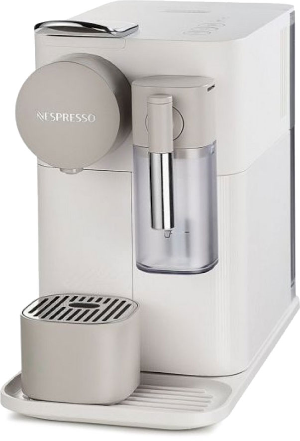 DeLonghi Nespresso Lattissima One EN500.W, White капсульная кофемашина