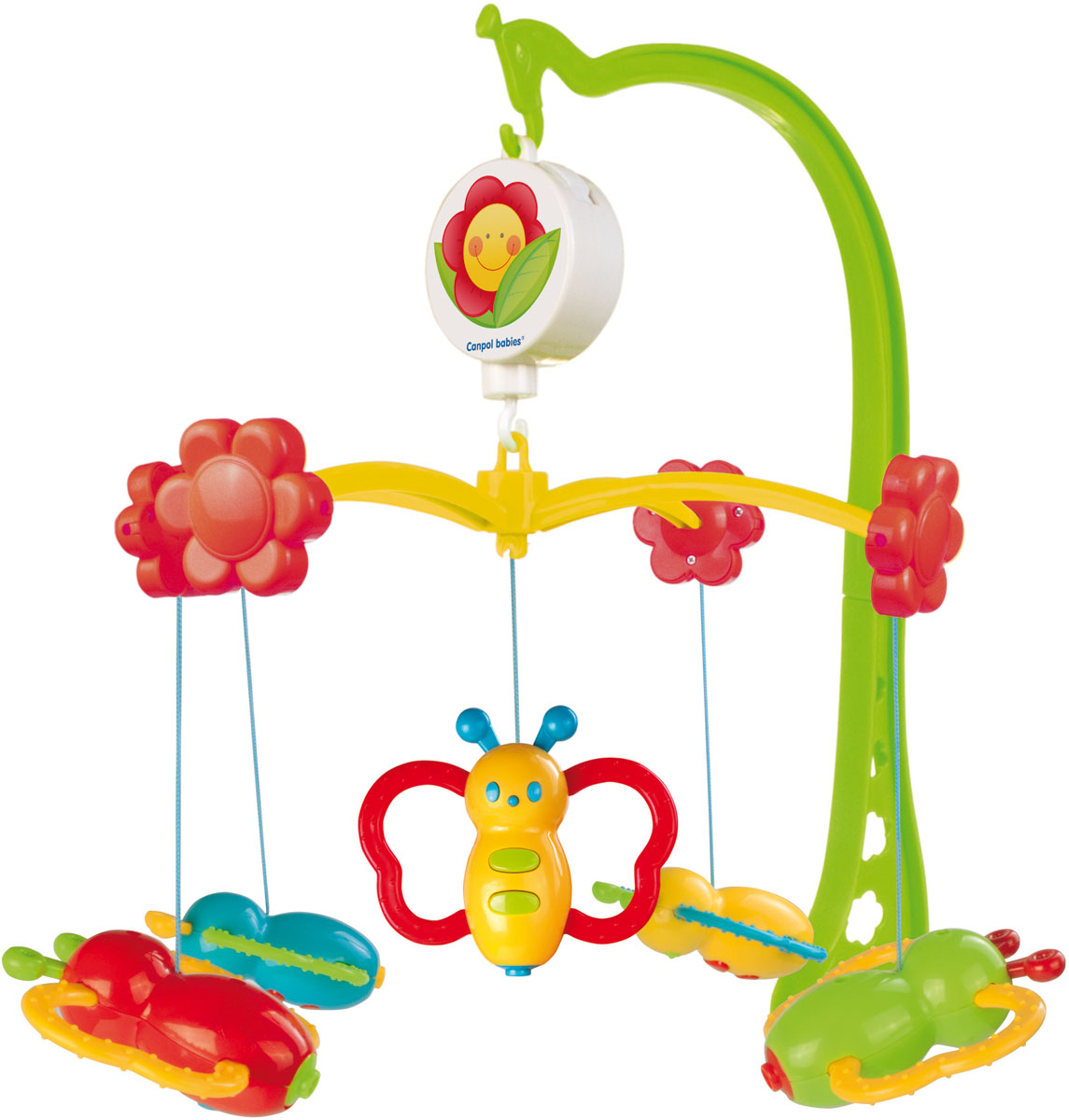 Canpol Babies Мобиль музыкальный Бабочки цена