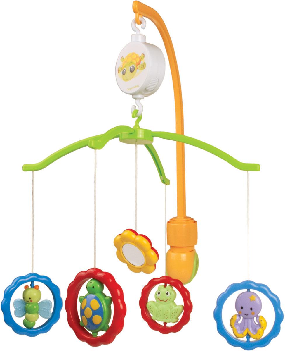 Canpol Babies Мобиль музыкальный Животные с зеркалами