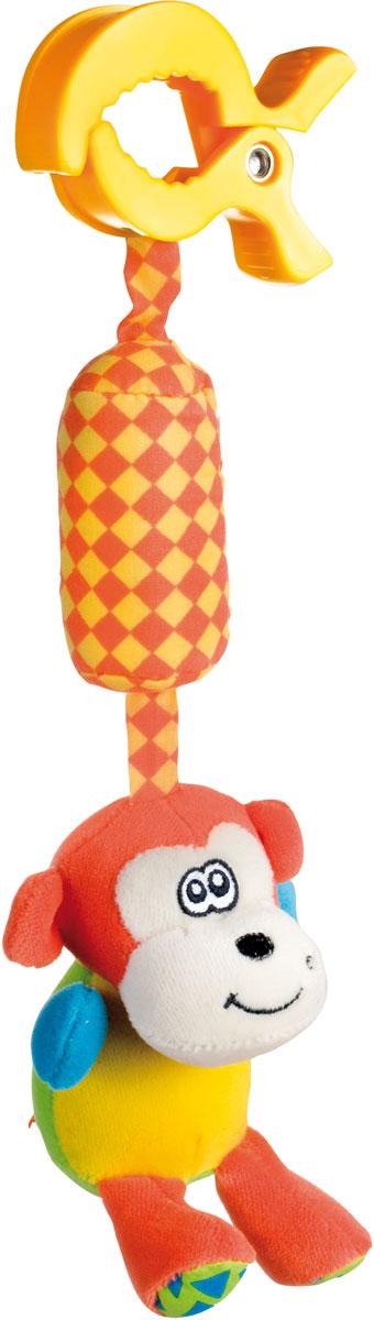 Canpol Babies Игрушка подвесная с погремушкой Обезьянка цена 2017