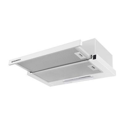 Встраиваемая вытяжка MAUNFELD VS LIGHT (C) 50 Белый Габариты (вхшхг) (см): 17х50х31-48 Производительность (куб. м/час)...