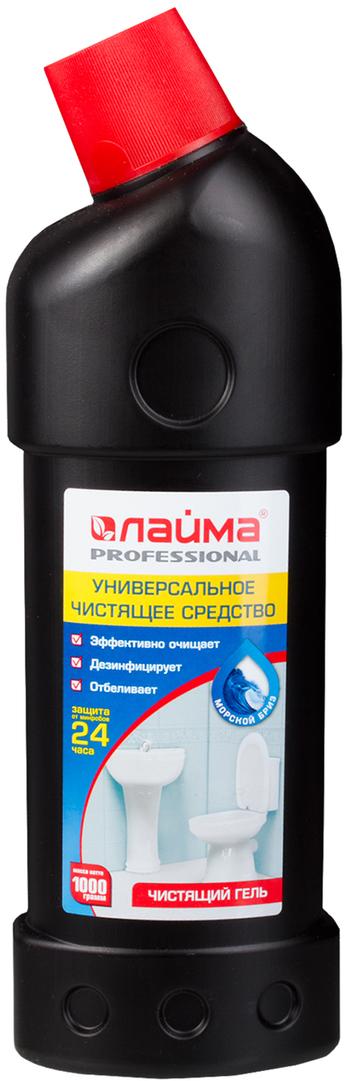 """Чистящее средство Лайма """"Professional"""", дезинфицирующий и отбеливающий эффект, морской бриз, 1 л. 602304"""