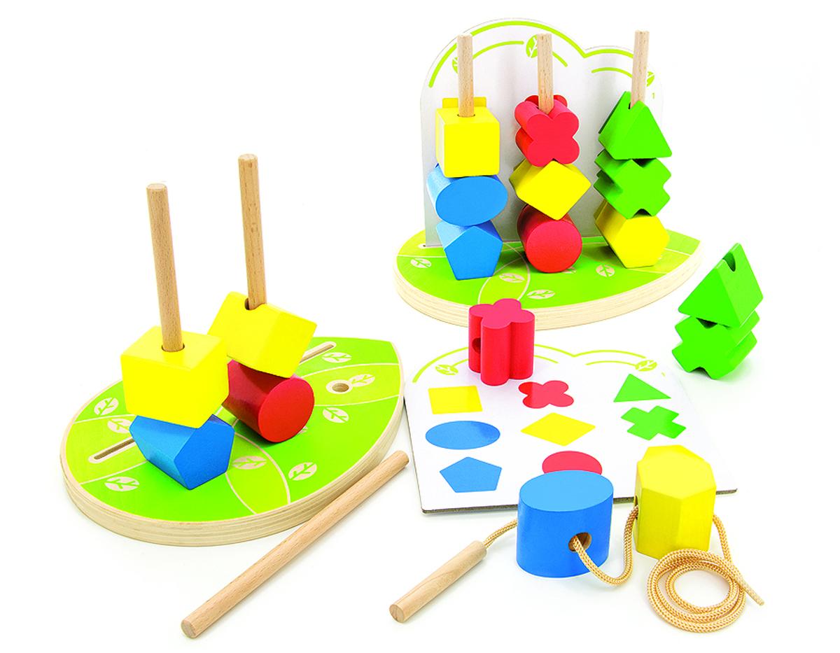 Игрушки из дерева Обучающая игра Сортер Геометрические фигуры игрушка сортер томик геометрические фигуры