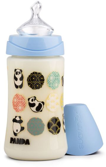 Suavinex Бутылочка от 0 месяцев с силиконовой соской цвет голубой 270 мл suavinex бутылочка от 0 месяцев с силиконовой соской цвет бирюзовый 270 мл