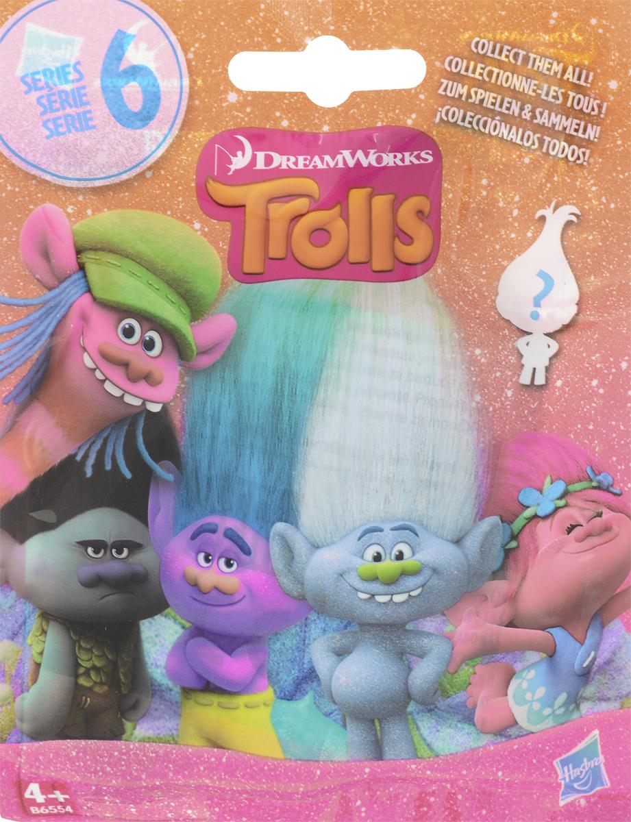 Trolls Фигурка коллекционная Тролль Серия 6 фигурки героев мультфильмов trolls коллекционная фигурка trolls в закрытой упаковке 10 см в ассортименте