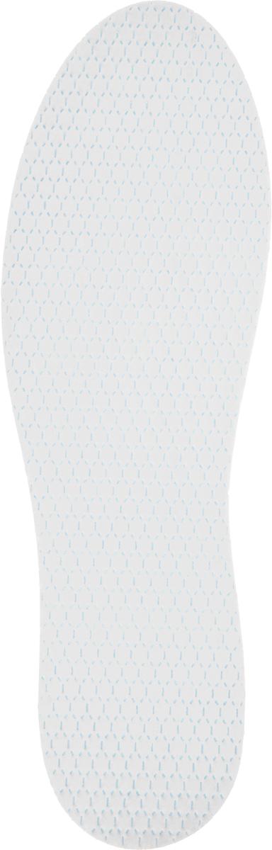 Стельки антибактериальные MiniMax, 2 пары, цвет: белый. Размер 39-41 стельки доктора