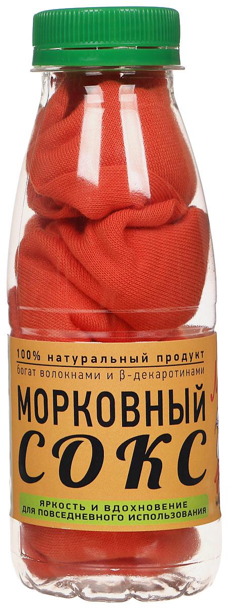 Носки Бюро находок Морковный сокс  Лайт цвет  оранжевый размер 25