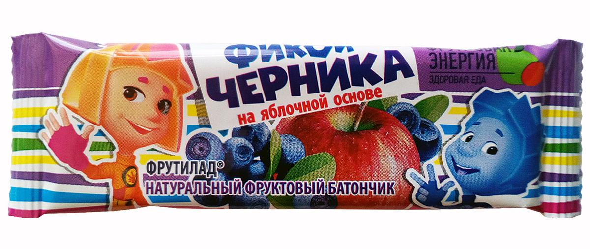 Фрутилад Батончик фруктовый фикси черника, 30 г