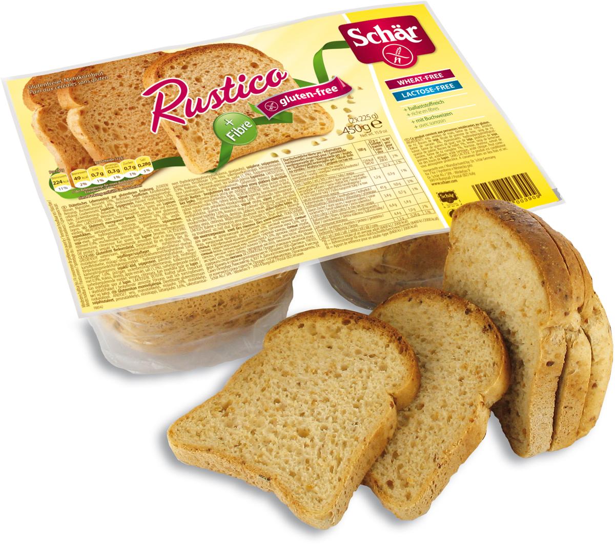 Хлеб злаковый Dr. Schar Pan Rustico, 250 г
