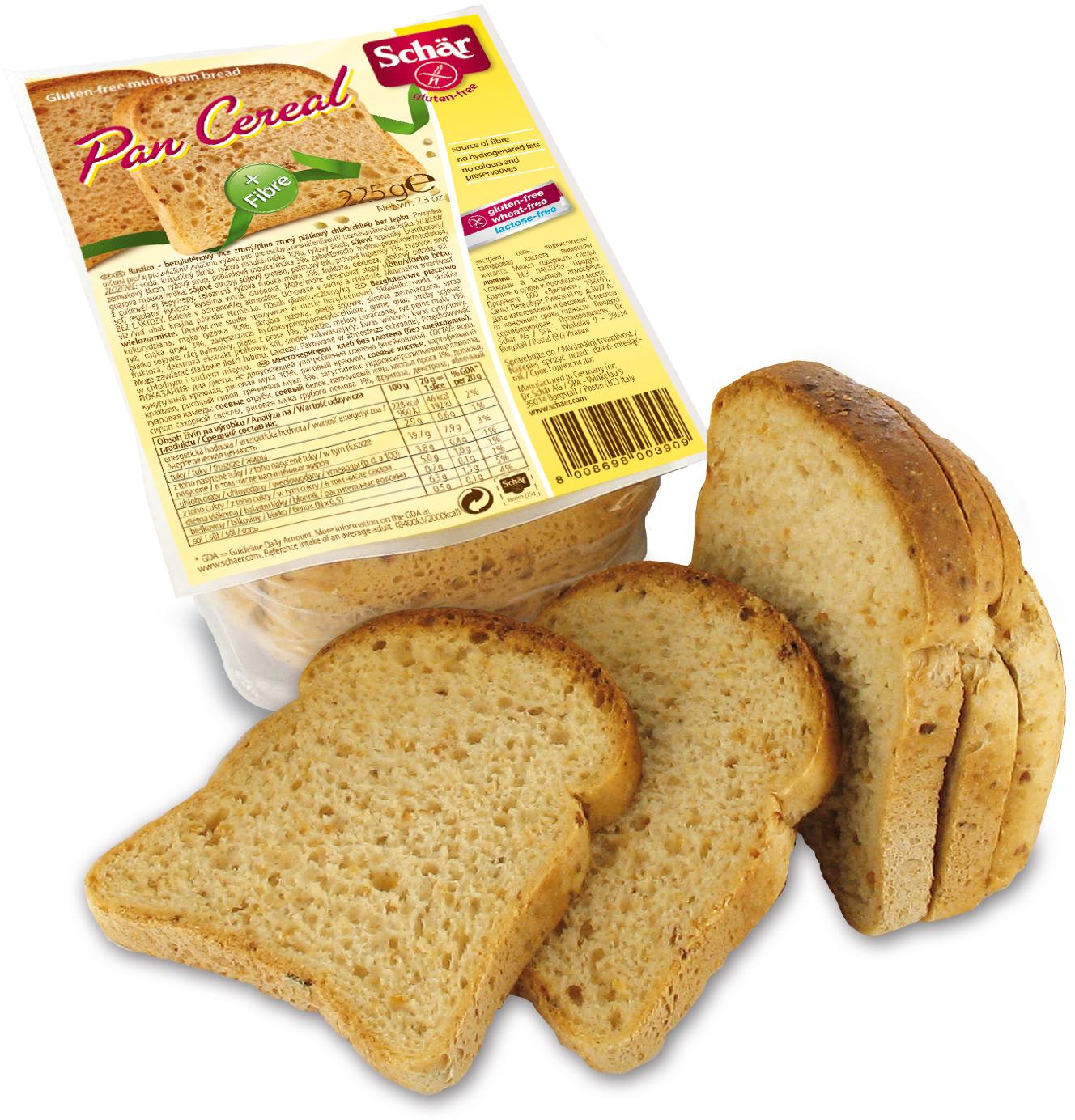 Dr. Schar Pan Cereal Хлеб многозерновой, 250 г dr schar pan carre хлеб белый 400 г