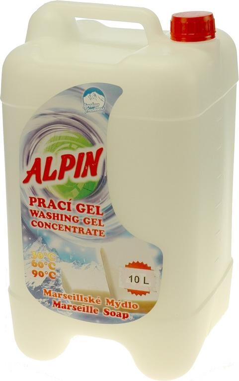 """Жидкое средство для стирки Alpin """"Марсельское мыло"""", концентрат, 10 л"""