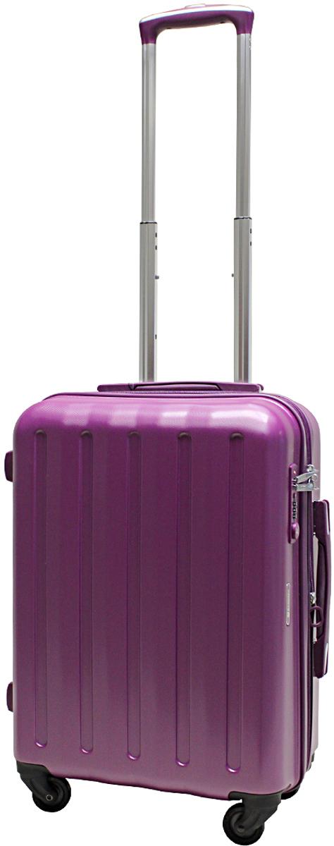 Чемодан-тележка Echolac 008, на колесах, цвет: фиолетовый, 45 л. 008-20PC008-20PCЧемодан Echolac, коллекция LIGHT. Компактный и легкий. Служит незаменимым спутником для деловых поездок и кратковременных путешествий. Произведен из поликарбоната, что является гарантом прочности, надёжности и долговечности. Четыре колеса японского производителя HINOMOTO, вращающиеся на 360 градусов, придают маневренность и распределяют нагрузку равномерно. А также избавят вашу руку от излишней нагрузки. Функциональный: имеет вместительное отделение с прижимными ремнями и перегородкой с дополнительными карманами. Надежный: встроенный кодовый замок с функцией TSA. Вы закрываете замок на кодовую комбинацию, а при необходимости досмотра таможенные службы смогут открыть его универсальным ключом, не сбивая ваш код и не повреждая чемодан. Ключ в комплект чемодана не входит. Вес: 3 кг; объем: 45 л. Размер: 55 х 39 х 23 см. Гарантия - 5 лет. Как выбрать чемодан. Статья OZON Гид