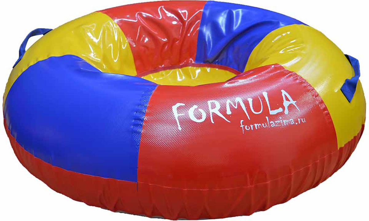 Тюбинг FormulaZima Торнадо, диаметр 100 см тюбинг formulazima вихрь цвет черный оранжевый диаметр 100 см