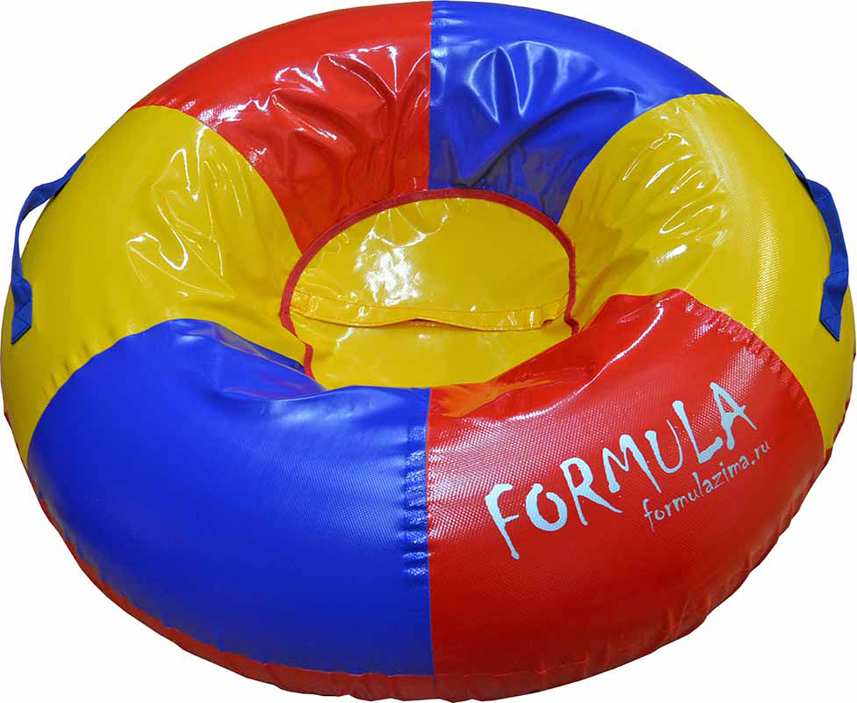 Тюбинг FormulaZima Торнадо, диаметр 120 см тюбинг formulazima вихрь цвет черный оранжевый диаметр 100 см
