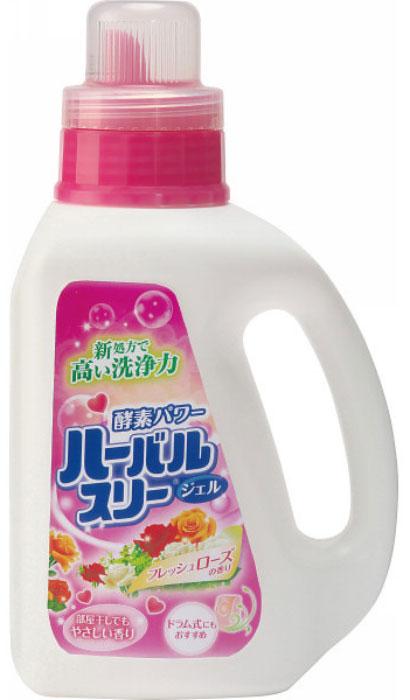 Гель для стирки белья Mitsuei, с ароматом роз, 900 мл
