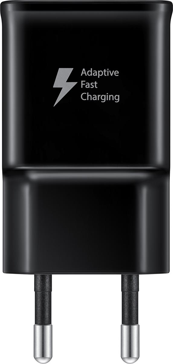 Samsung EP-TA20, Black сетевое зарядное устройство Type-C сетевое зу samsung ep ta300 usb type c быстрое белое