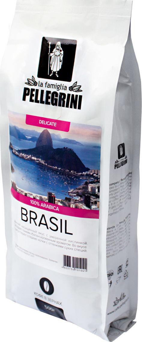 La Famiglia Pellegrini Brasil кофе в зернах, 500 г enrico vignati ritratto di famiglia