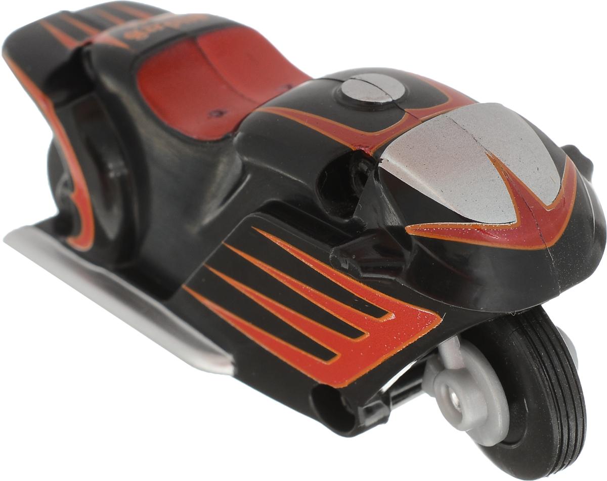 Maisto Мотоцикл инерционный Slickers цвет черный maisto мотоцикл 2001 harley davidson opie