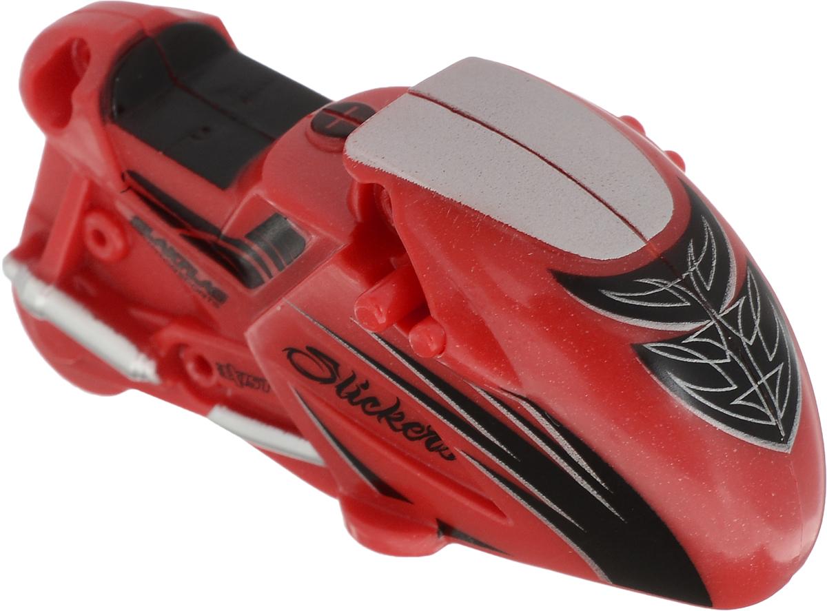 Maisto Мотоцикл инерционный Slickers цвет красный